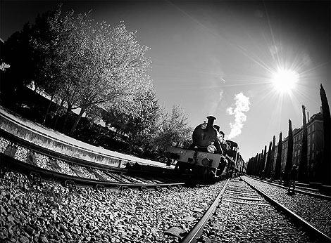 Puertas abiertas en el Museo del Ferrocarril