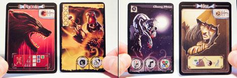 Las cartas, los enemigos. Las de fuera, de Yggdrasil. Las interiores, de GS