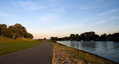 Paseo junto al Weser