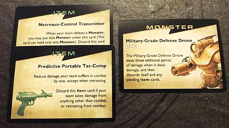 Monstruo con CV 3 y un par de objetos que se pueden ganar de matar a un enemigo si este lo permite, que no será el caso