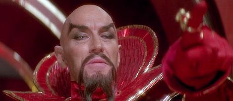 El emperador Ming: un 'Fu Manchú' de las galaxias.