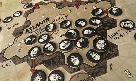 Atlanta, tomada por los muertos vivientes...