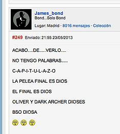 Reacción típica al ver el último episodio, vista en Vandal.net
