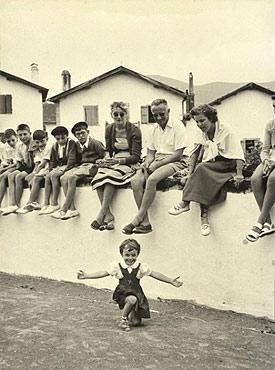 © Robert Capa / Magnum Photos. Village festival, Basque Country, France, 1951