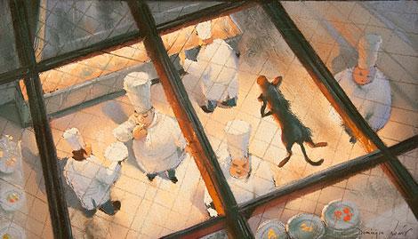 Arte basado en 'Ratatouille'