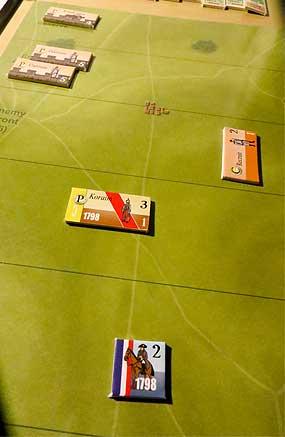 Napoleón, solo, esperando su muerte en el campo de batalla