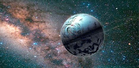 Trántor, planeta-capital del Imperio: 40.000 millones de habitantes