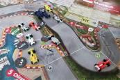 Accidente: un Mercedes (posiblemente el de Rosberg) se estrelló al salir del túnel