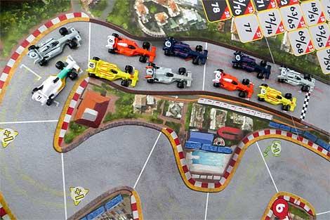 GP de Mónaco: parrilla de salida