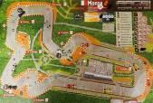 Final del GP de Italia en Monza: el ganador está a mitad del trazado. Una rareza