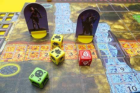 Detalle de héroes, mapa y enemigos de 'Portal of Morth'