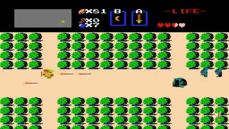 Zelda. Buen ejemplo de qué era concebir la existencia en cuadraditos