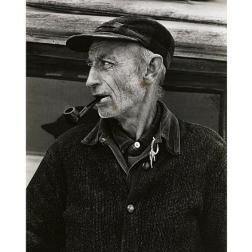 El Sr. Bennett, West River Valley, Vermont, 1944 Copia a la gelatina de plata Colecciones FUNDACIÓN MAPFRE, FM000904 © Aperture Foundation Inc., Paul Strand Archive