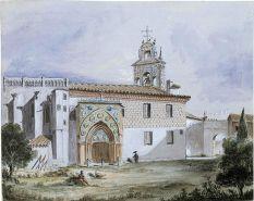 'Sevilla. Iglesia del monasterio de Santa Paula'. Acuarela sobre papel | ©Familia Ford