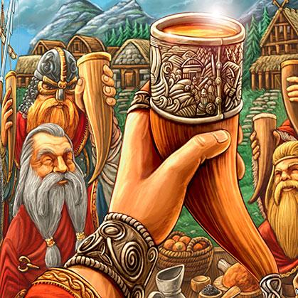 """Resultado de imagen de mesa de banquete vikingo"""""""