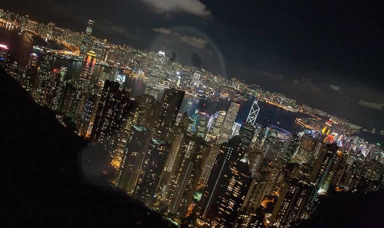 Esto es Hong Kong desde The Peak: la foto más típica