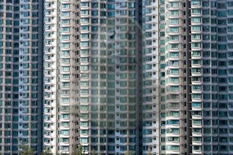 Otra imagen icónica: la de los infinitos balcones de las torres.