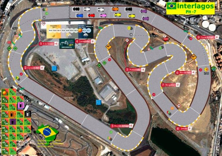 Circuito 'apócrifo' de Interlagos. ¡Que buena pinta!
