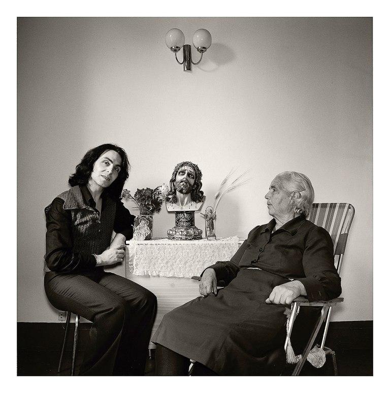 Violeta la Burra y su madre (1978). Espaivisor, Valencia.
