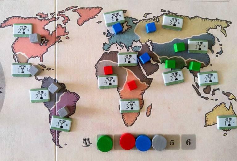 El desarrollo geográfico de nuestra civilización es clave para obtener puntos.