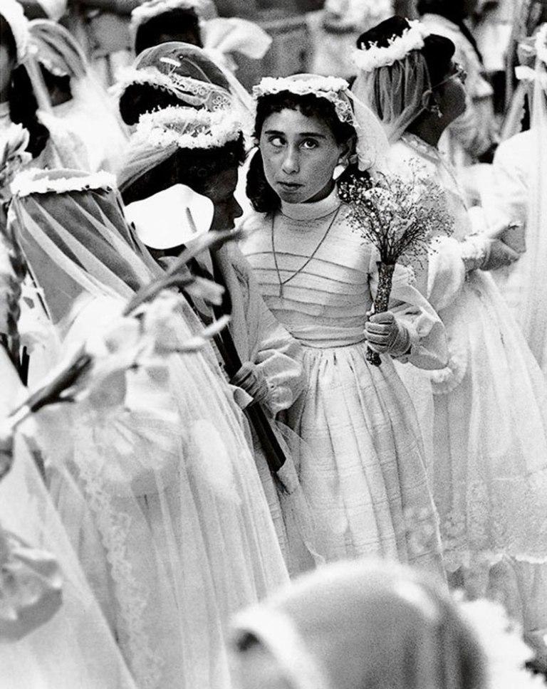 La niña bizca de comunión es una de sus mejores fotos y guarda una bella historia detrás