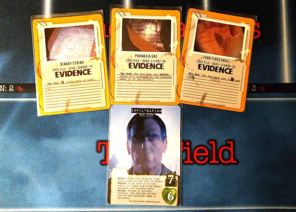 The End (uno de ellos, hay ocho), con las evidencias que le añaden algún efecto extra