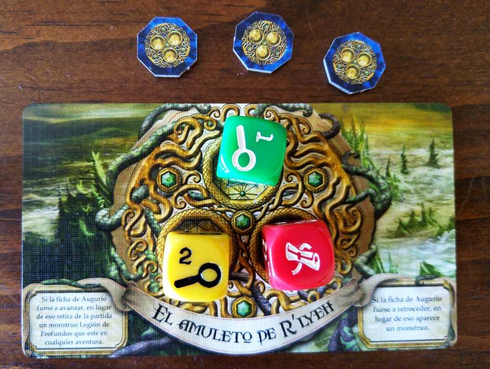 El amuleto de Rlyeh